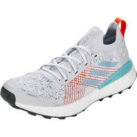 adidas TERREX Two Ultra Parley Trail Running Schuhe Herren dash grey/footwear white/true orange